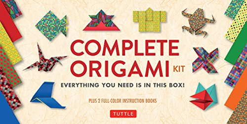 Complete Origami Kit Ebook Kit With 2 Origami How To Books 98