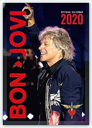 Bon Jovi 2021 Calendario A3