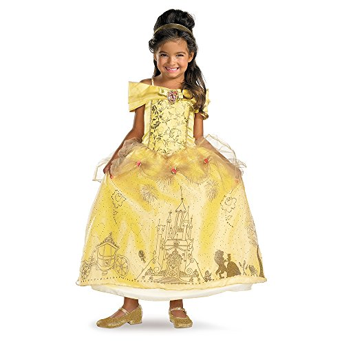 [Storybook Belle Prestige Costume - Extra Small (3T-4T)] (Beauty And The Beast Costume Belle)