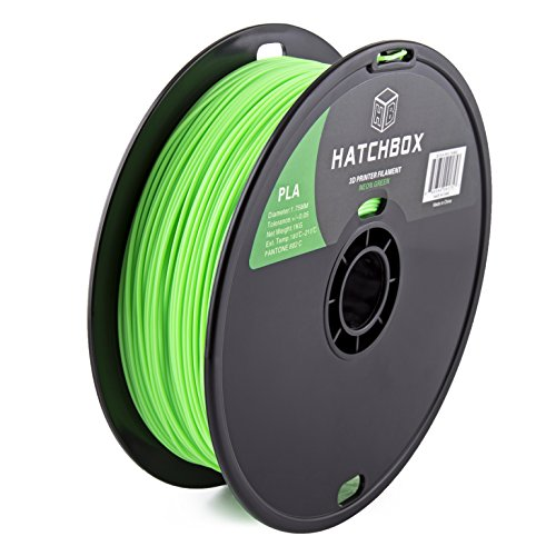 HATCHBOX-3D-PLA-1KG175-802C-PLA-3D-Printer-Filament-Dimensional-Accuracy-005-mm-1-kg-Spool-175-mm-Neon-Green