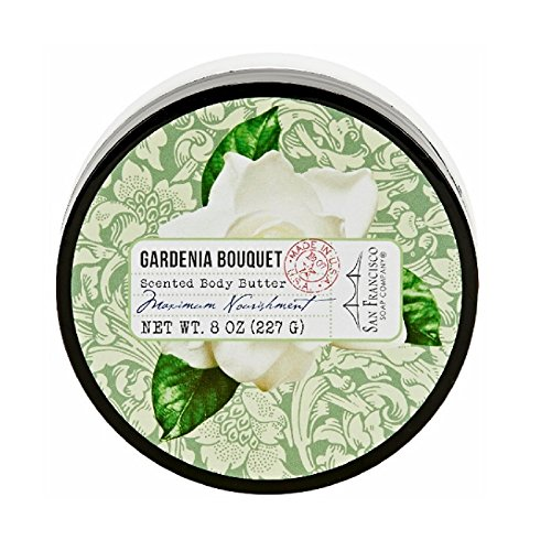 san-francisco-soap-company-gardenia-bouquet-body-butter-8-ounce