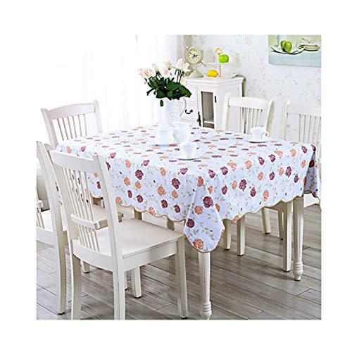 CONGMING-tablecloths Manteles De Mesa Corredores De Mesa Manteles Al Aire Libre-Aceite De Celosía De Jardín Impermeable Y...