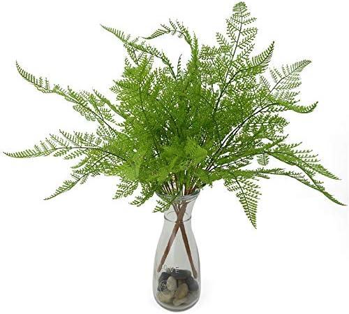Fgasad Lot de 17 feuilles artificielles /à suspendre pour d/écoration murale