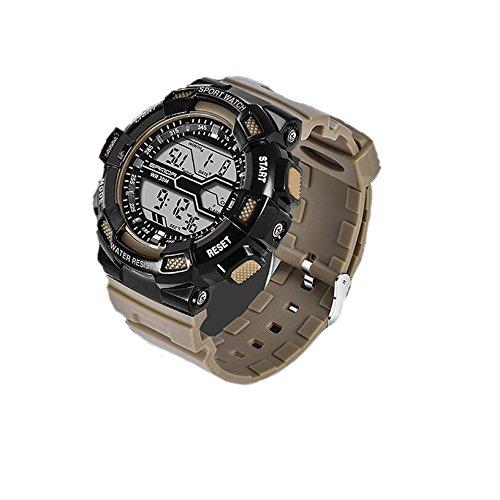 Reloj de niño adolescente,Deportes acuáticos deportes al aire libre reloj electrónico digital de múltiples funciones de diseño de moda-E: Amazon.es: Relojes