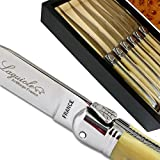 Laguiole steak knives ABS luxury beige direct from France