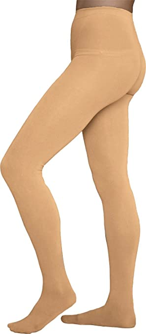 1940s Stockings, Nylons, Knee Highs, Tights, Pantyhose  Winter Figure Skating Footed Tights TF8830 ChloeNoel $27.95 AT vintagedancer.com