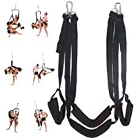Free 360◦ Indoor Accessory Set Swing Nylon Strap Toy for Couples Games