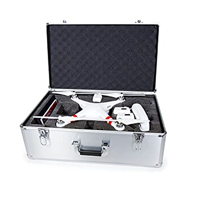 Commart DJI Phantom 2 Vision+ Quadcopter Alloy Hard Carry Case Box Ships from USA by Commart