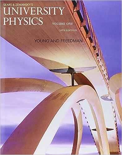 Amazon com: University Physics with Modern Physics, Volume 1