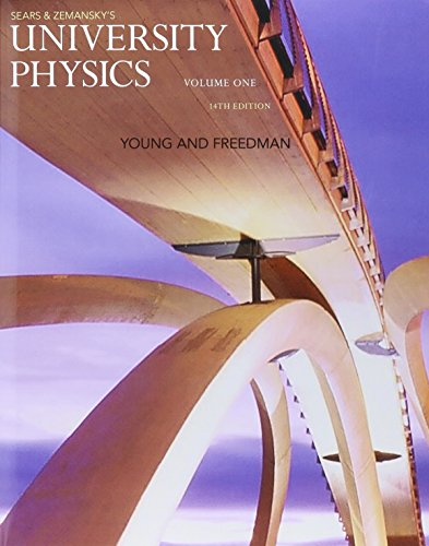 University Physics with Modern Physics, Volume 1 (Chs. 1-20) and Mastering Physics with Pearson eText & ValuePack Access Card (14th Edition)