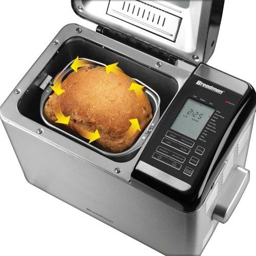 Applica TR2500BC Negro, Acero inoxidable - Panificadora (Acero inoxidable, Negro, Acero inoxidable, 454 g, Pastel de masa, Pan de dieta, Masa, Pan francés, ...