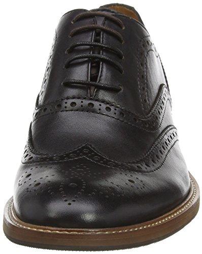 Aldo Bartolello - Zapatos de vestir Hombre Negro (Black Suede/91)