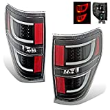 SPPC Black LED Tail lights Set For Ford F-150 Version 2 – Passenger and Driver Side
