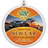 Citrus Magic 866472512 On The Go Luxurious New Car Solid Air Freshener - 8 oz., (Pack of 3)