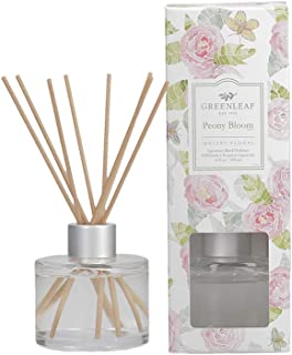 product image for GREENLEAF Signature Reed Diffuser - Peony Bloom - Lasts Up to 30 Days - Made in The USA
