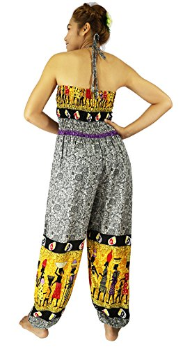 Rosina de las mujeres pantalones harén Aladdin mono de Egipto FINE ART Egypt Grey