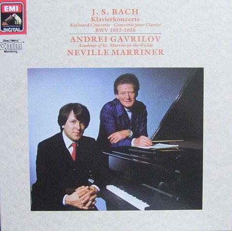 Bach: Klavierkonzerte BWV 1052-1058 [Vinyl record] [2 LP Box-Set]