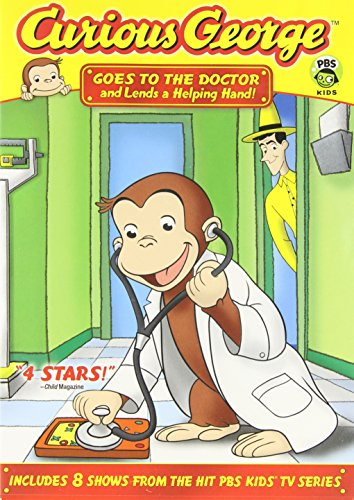 Curious George:  Goes to the Doctor and Lends a Helping Hand]()