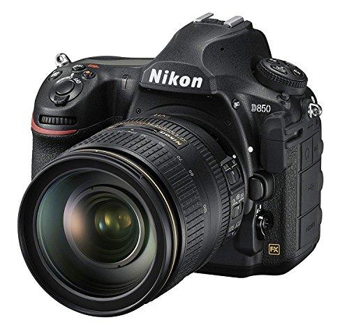 Nikon D850 FX-Format Digital SLR Camera Body w/AF-S NIKKOR 24-120MM F/4G ED VR Lens (International Model)