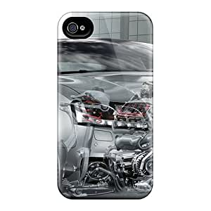 Iphone 6 Audi Motion Print High Quality Frame Cases Covers