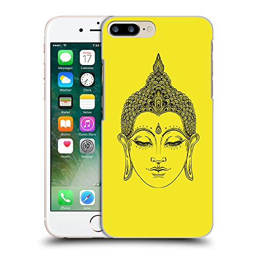 GoGoMobile Coque de Protection TPU Silicone Case pour // Q07700625 Bouddha 6 Jaune canari // Apple iPhone 7 PLUS