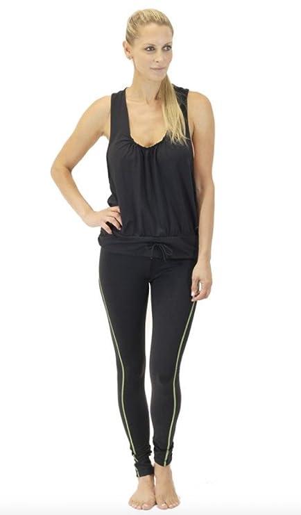 30c30be70b22 X by Gottex Women's Lux Contrast-Stitched Legging Yoga pant (black, ...