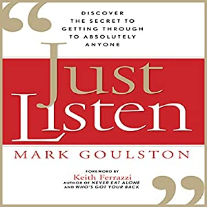 Just Listen | Livre audio