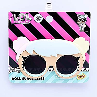 Sun-Staches Officiall LOL Surprise Bon Lil' Characters, Costume Sunglasses Party Favors UV Shades, Multi, One Size (SG3595): Toys & Games