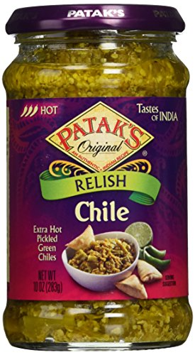 Patak's Chilli Pickle, 10 oz (Best Indian Cooking Sites)