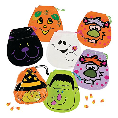 Drawstring Halloween Goody Bags package