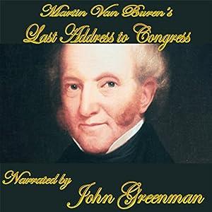 Martin Van Buren's Final Address Audiobook