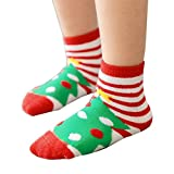 Elaco 3Pairs Baby Newborn Infant Toddler Kids Elk Soft Cotton Socks Cute Socks