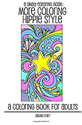A Small Coloring Book: More Coloring Hippie Style