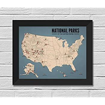 Maps Tan & Slate Blue Office Products Best Maps Ever US ...