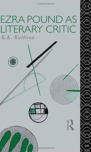 Ezra Pound as Literary Critic (Critics of