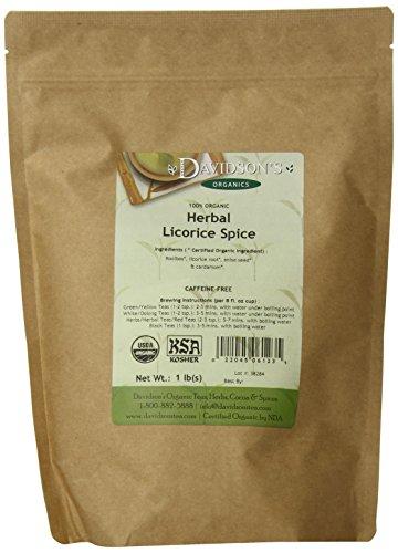 Davidsons Tea Herbal Licorice Spice