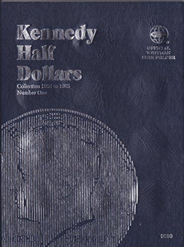 Whitman Coin Folder 9699 Kennedy Half Dollars #1 1964-1985