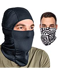 Balaclava Ski Mask: Full Face Mask + Headband - Motorcyle...