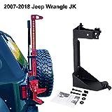 ALAVENTE Off-Road High Lift Jack Mount Spacer Bracket Rear High Lift Mounting Kit