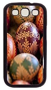 luxury Samsung S3 cases Best Easter Eggss PC Black cover custom Samsung S3