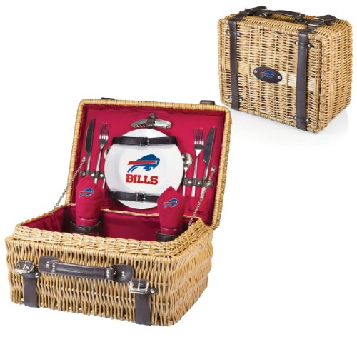 PICNIC TIME NFL Champion Picnic Basket with Deluxe Service for Two