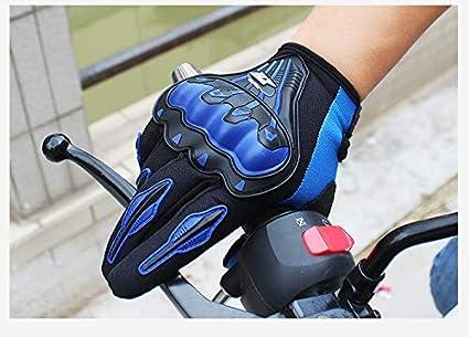 Guantes XuBa para motocicleta motocross medium Negro motocross