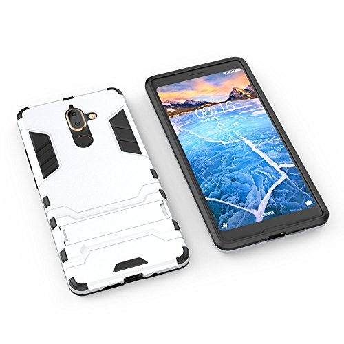 WindCase Nokia 7 Plus Case Dual Layer [Shock-Absorption] TPU