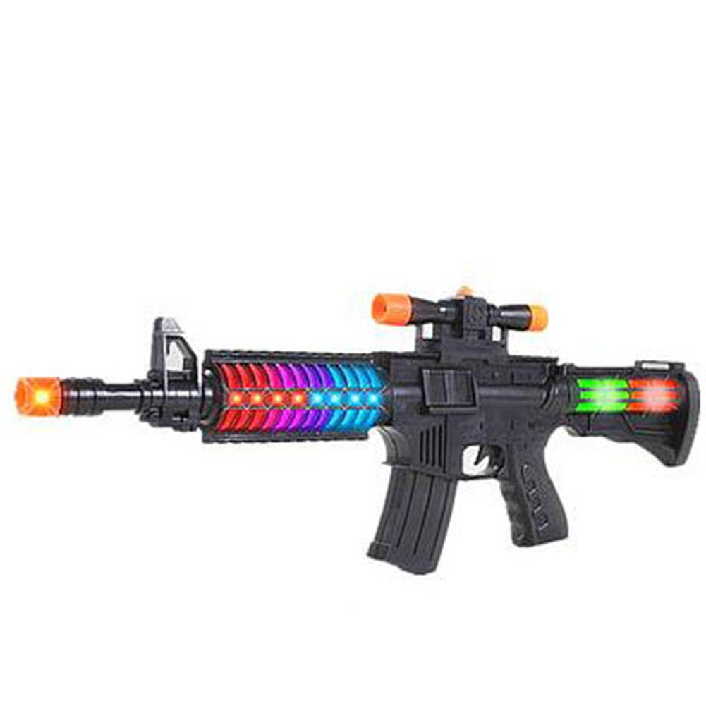 Bovillo Crack Voice Light Play Toy Gun Gift for Kids Daily Vacation Game