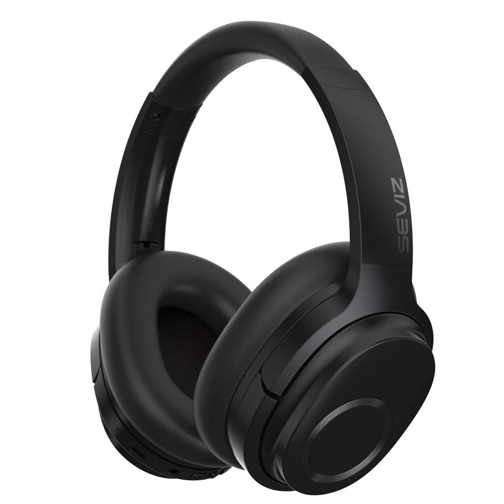 SEVIZ Wireless Bluetooth Headphones, 40 Hours, The Best Sound and Powerful bass, Noise canceling Headphones, Ear-Friendly earpads, Foldable, Built-in Microphone, Stereo Headphones 11