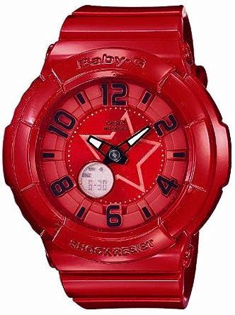 6f4bd9d7d0 Amazon | [カシオ]CASIO 腕時計 Baby-G ベビージー Neon Dial Series BGA-133-4BJF レディース |  国内メーカー | 腕時計 通販
