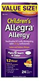 Health & Personal Care : Allegra Children's Allergy 12 Hour Orally Disintegrating Tablets, Orange Cream Flavor, 24 Count