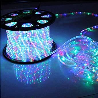 Christmas Led Strip Lights.Amazon Com Led Strip Lights Waterproof Rainbow Tube Rope