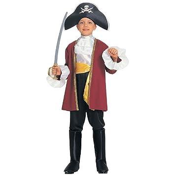 Amazon.com: Capitán Hook – Disfraz pirata disfraces WB ...
