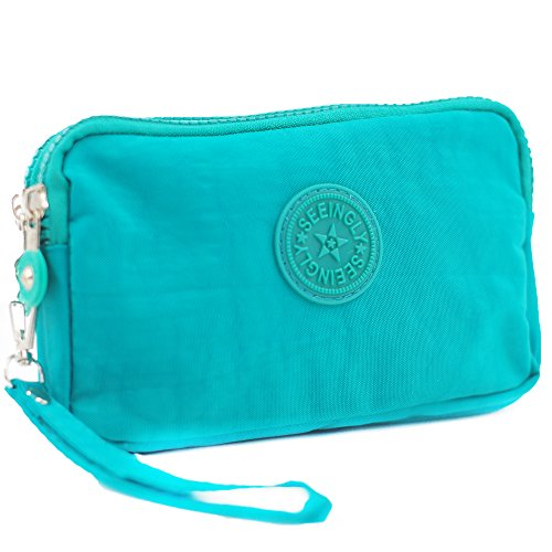 APAS Zippers Large Pencil Clutch
